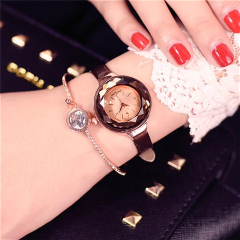 Luxury Small Dial Genuine Leather Thin Strap Quartz Dress Watch Wristwatches aravia professional гель callus remover 100 мл