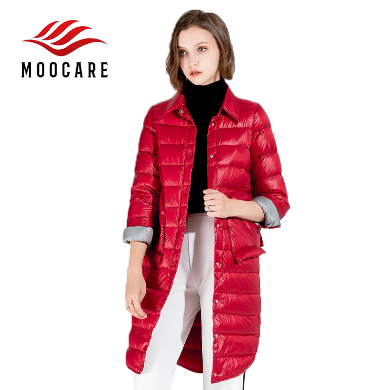 ae1216fd22e1 Anti Cold Winter Women White Duck Down Coat Long Trench Outdoor Jacket Warm  Parkas Ultra Thin Down Clothes -in Down Coats from Women s Clothing   ...