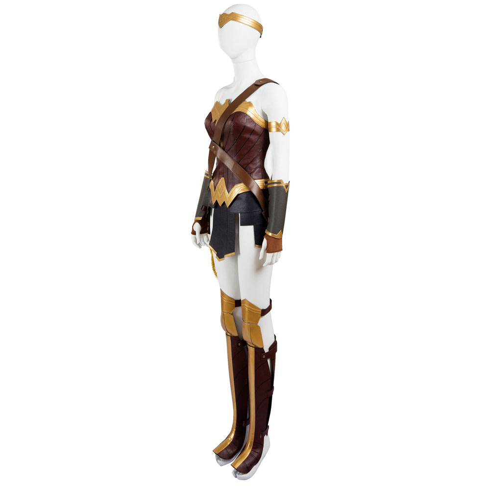 Wonder Woman Costume Diana Princess Cosplay Costume Women Superhero Halloween Wonder Woman Costume For Women Custom Made in Movie TV costumes from Novelty Special Use