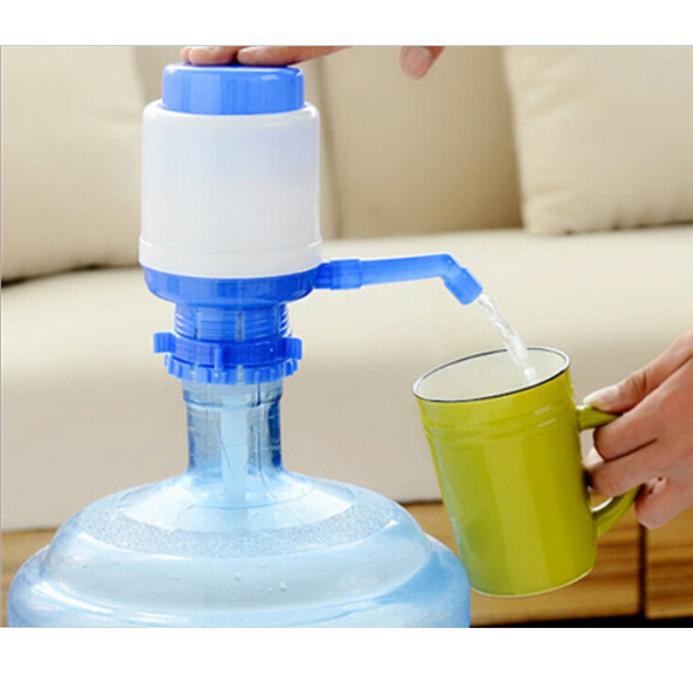 Brief hand press manual pump water dispenser 5 gallon for What to make out of water bottles