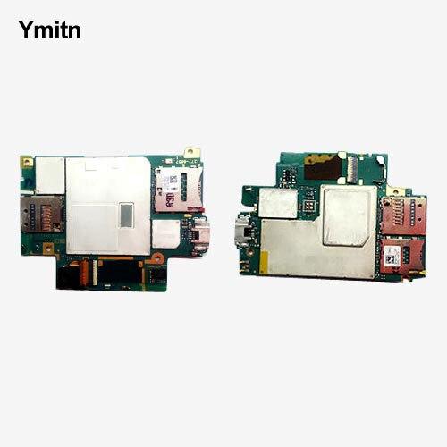 Ymitn Mobile Électronique panneau carte mère Carte Mère Circuits Câble Pour Sony xperia Z3 D6683 D6653 SOL26 Z3V