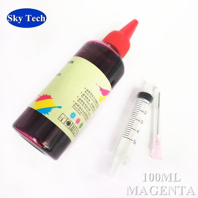 Encre de recharge de qualité pour cartouches Epson, encre Photo à encre à colorant pour imprimante de bureau Epson. 100 ML par couleur.
