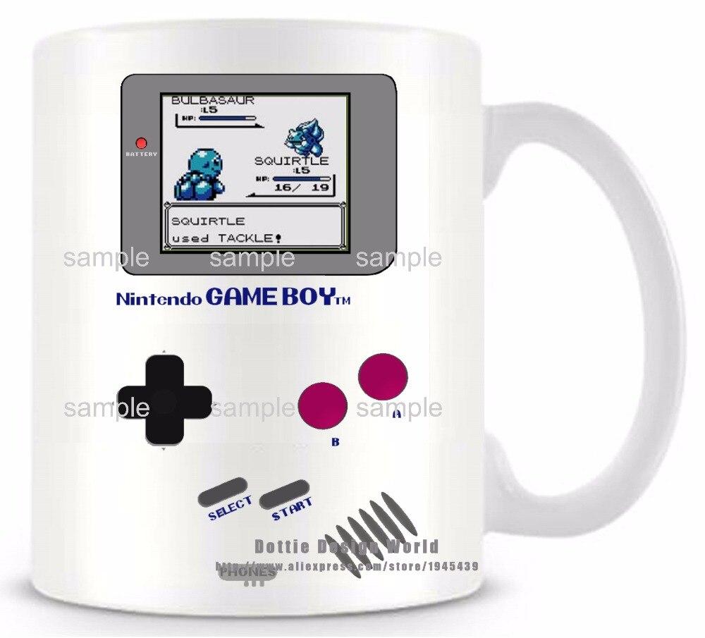 DIY Neue Gameboy Keramik weiß kaffee tee milch becher Pokemon ...