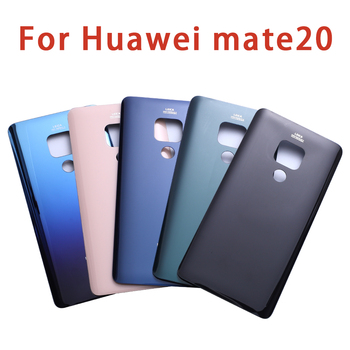 Cover posteriore back cover batteria per Huawei Mate 20 Battery Cover Rear Door Housing Case With Camera Lens Replace 1