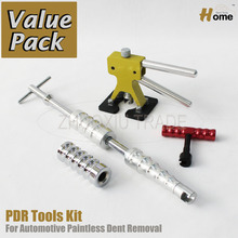 PDR Инструменты Paintless Dent Repair Auto Body Дент Инструменты Удаления Дент Комплект PDR-257