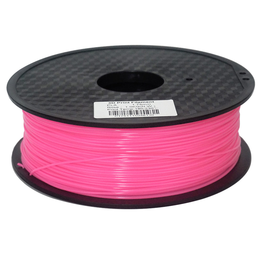 Fast Delivery 1KG (2.2lb) 350 M/roll 3d printer Material Plastic 1.75mm PLA Filament For 3D Printer Making model and 3D Pen