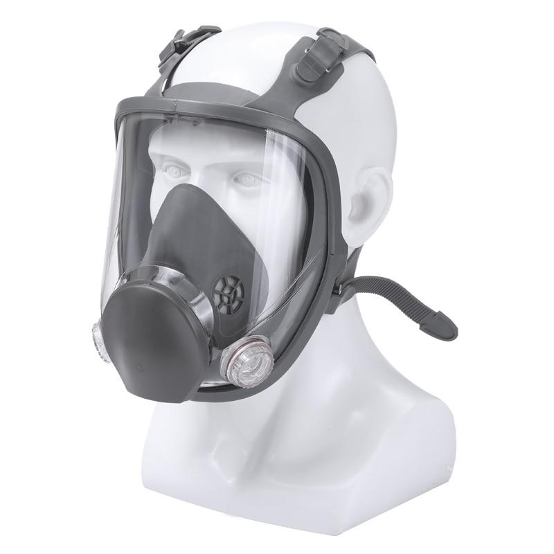 3 м 7501 + 6057 полуреспиратор для лица, Маска многоразового использования, респиратор, маска от пыли/органических газов/хлора, 7 предметов в 1 наб... - 5