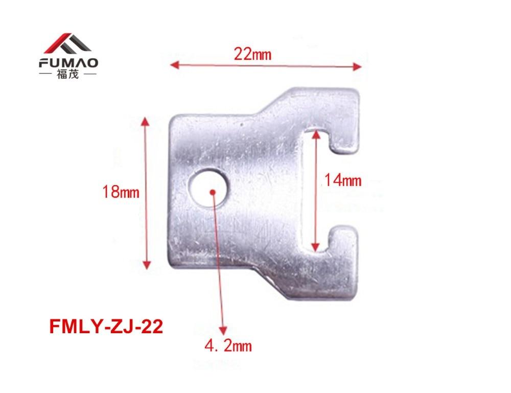 Купить с кэшбэком Manufacture Custom Nickel-plated spring green silicon cover downlight clips