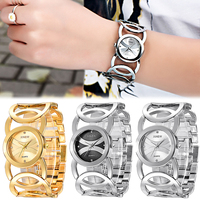 Shellhard 1 st Fashion Vrouwen Rvs Band Armband Horloge Waterdicht Dames Quartz Horloges