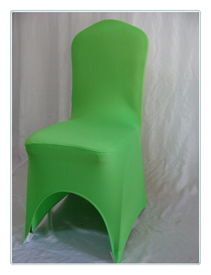 Free Shipping 100pcs Premium Green Spandex Chair Cover