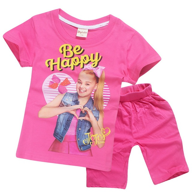 1e641db2d2e9 Summer children clothing set kids casual sport suits new siwa ...