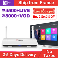 Full HD IPTV France Android Box TV Receiver Rk3229 Quad Core WIFI Leadcool TV Box With IPTV SUBTV France Turkish Arabic IP TV
