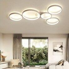 купить Led Ceiling chandelier Lights Surface Mounted Modern For Living Room Bedroom Fixture Indoor Home Decorative chandeliers по цене 3167.91 рублей