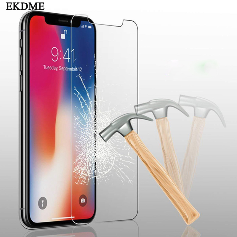 Tempered Glass For IPhone 11 Pro XR XS MAX Screen Protector For IPhone 8 X 7 6 6S Plus 5 5S SE 11 Pro Max 6.1 6.5 5.8inch 2019