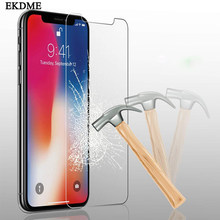 Tempered Glass For iPhone XS XR XS MAX Screen Protector Cover For iPhone 8 X 7 6 6S Plus 5 5S SE XS 6.1 6.5 5.8 inch 2019(China)