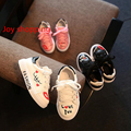 Primavera de los nuevos niños shoes children's small white shoes boys and girls suave piso shoes