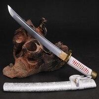 Tanto Мечи ручной работы японский меч самурая 9260 Рессорная сталь полный тан лезвие короткие Катана очень Sharp функциональный меч