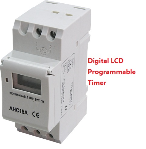 цена на Electronic Weekly 7 Days PROGRAMMABLE Timer THC15A AHC15A Digital Time Timer Switch Relay Din Rail AC DC 12V 24V 110V 220V
