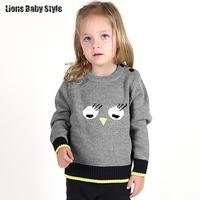 Winter Cartoon Cute Animal Designer Kids Knitting Wear Wool Sweaters Boys Knitwear Girls Cardigans Cardigan Sueter