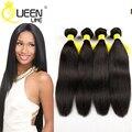Queenlike Brazilian Straight Hair Weave 4 Bundles Unprocessed Virgin Brazilian Hair Natural Black Brazilian Virgin Hair Straight
