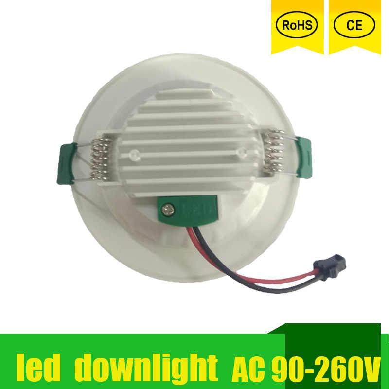 Led Downlight Led lustres plafonniers lampes projecteur 18w 15w 12w 9w 5w 220v 230v 110v pour camping-car intérieur lumière Led