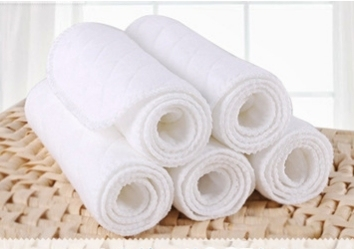 Ten Reusable Organic Diapers For All (0-3 years) Nursery Shop by Age Washable Diapers