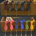 Bolinhas Laço Forma Broche de Terno Da Moda Decoração de Casamento padrinho de casamento Broches Novos Homens Populares Pin do Lapel 15 Pçs/lote Mista cores