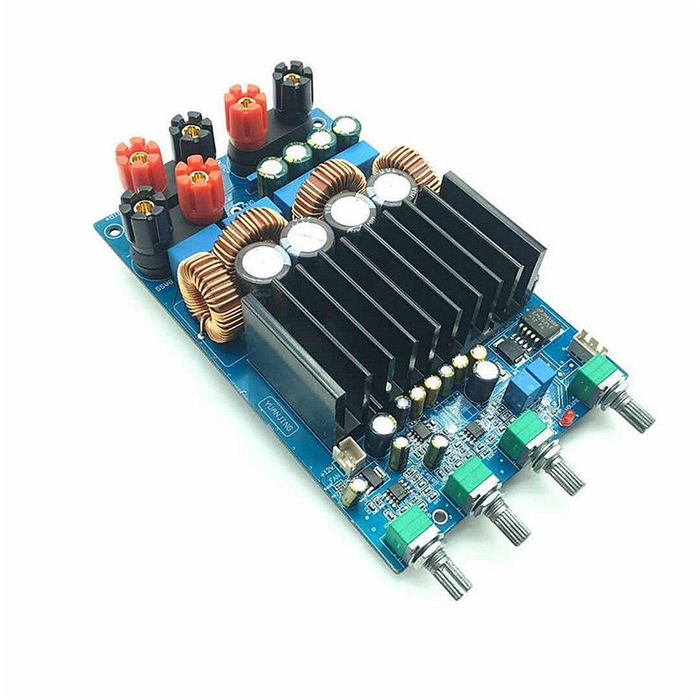 TAS5630 2.1 classe D 300W + 150W + 150W tonalité ajuster amplificateur terminé carte assembler carte module raffiné - 4