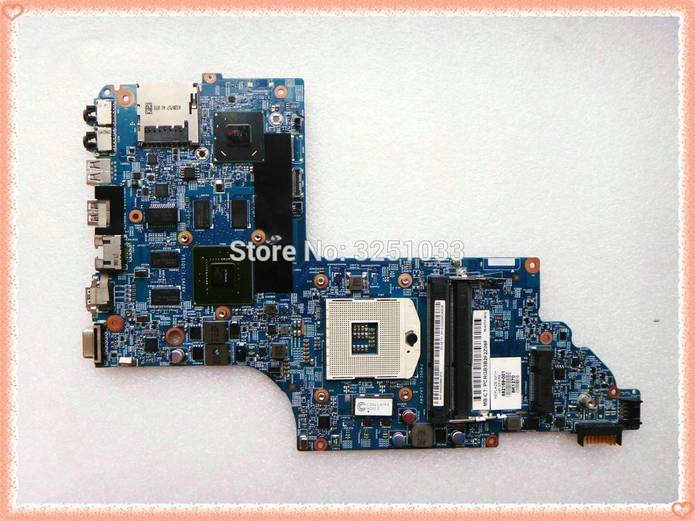 682169-001 for pavilion DV6-7000 laptop motherboard for HP PAVILION DV6T-7000 NOTEBOOK 48.4ST10.031 HM77 GT630 1G free shipping 659151 001 for hp pavilion dv6 dv6t dv6 6000 laptop motherboard hm65 chipset hd 6490 1g 100