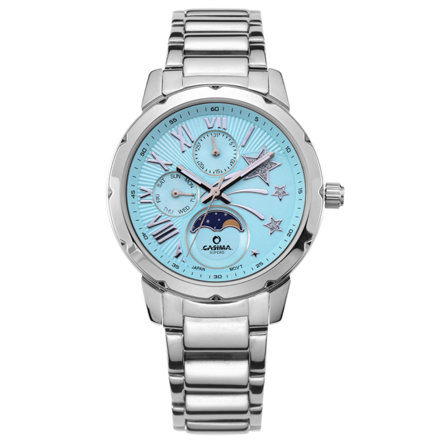 CASIMA Fashion Creative Quartz Wrist Watches Women Bracelet Watches Stainless St