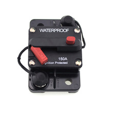 48V 150A Manual Reset Circuit Breaker Protector Overcurrent Protect Current Car Boat Accessories