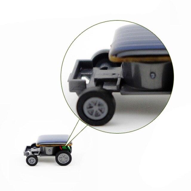Smallest Mini Solar Power Toy Car 5