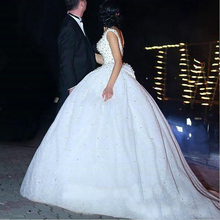 La MaxPa Saudi Arabia Lace Ball Bridal Gown dresses