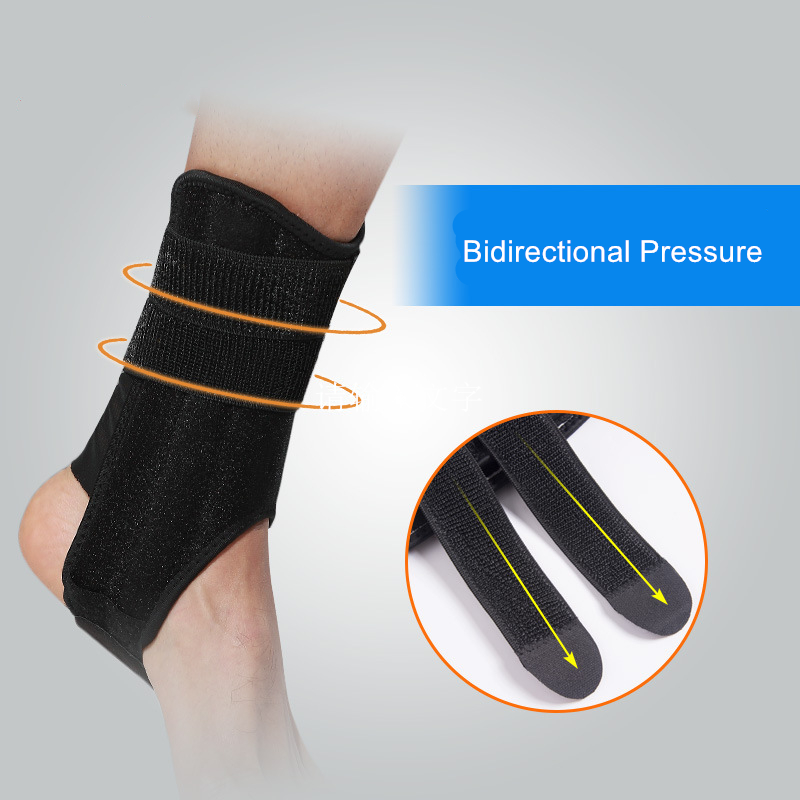 1 Pcs Foot Angel Sports Fixed Ankle Support Brace Foot Stabilizer with Springs Support for Basketball Sprain Protection Sleeve in Ankle Support from Sports Entertainment