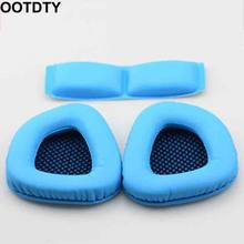 Earpad Ear Pad Earphone Soft Foam Cushion Headband Cover Head Band Replacement for SADES A60 Headphones(China)