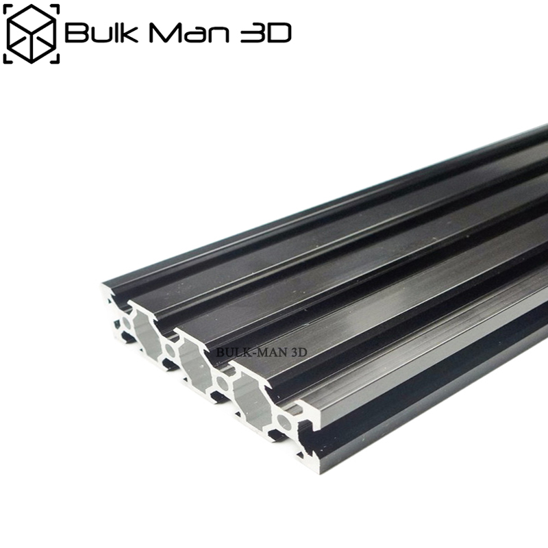 V Slot 2080 Sliver/Black Anodized Linear Rail For 3D Printer,CNC Router,V Slot Rail,Aluminium Profile