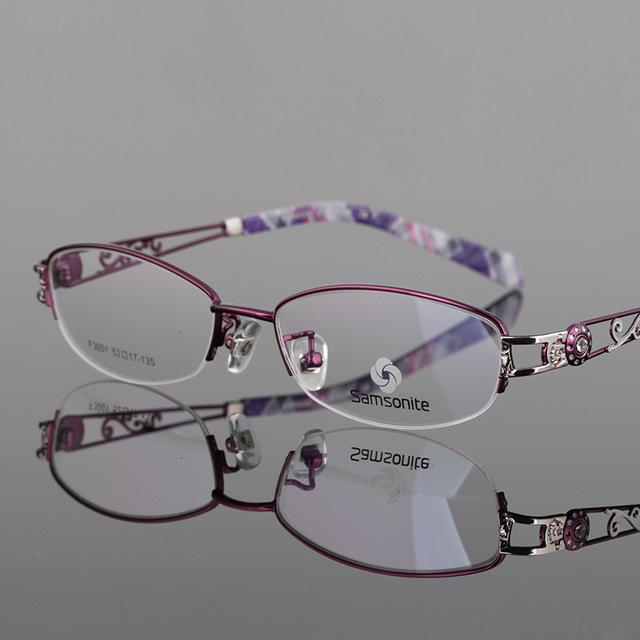 Senhora Meia Óculos de Armação Moda Gradual Dos Assuntos de Negócios Mais Foco Inteligência Tanto a Luz Descoloração Óculos Mulher 3001
