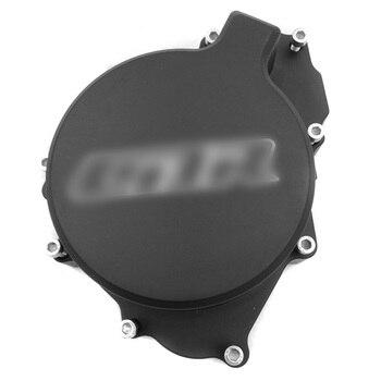 Aftermarket free shipping motorcycle parts Motor Engine Stator cover for Honda CBR600RR F4/F4i 1999-2006  left BLACK