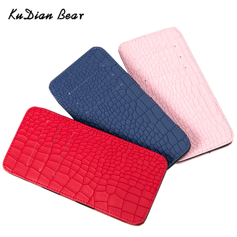 KUDIAN BEAR Minimalist Magic Men Wallet Slim Leather Korean Wallet and Purse for Male Slim Clamps Carteira Masculina BID129 PM49