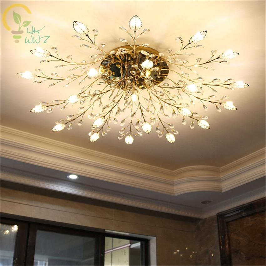 Modern Fashion Art Deco Leaves Led Ceiling Lamp Restaurant Bedroom Livingroom Study Office Creative Ceiling Lights Deco Lamp Ceiling Lights Lights & Lighting