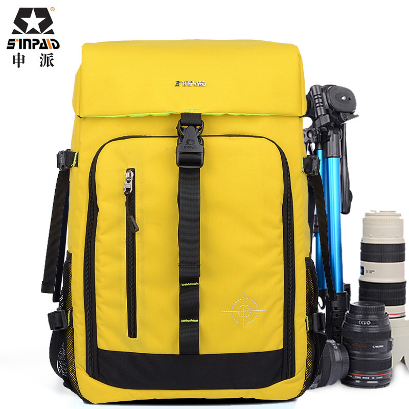 cb7436e5d13f China Wholesale Best selling fashion waterproof camera bag backpack photo  video camera bag with rain cover CD50-in Camera Video Bags from Consumer ...
