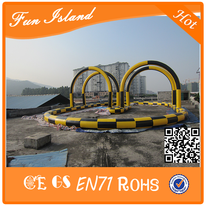 2017 inflatable race track/ inflatable tumble track/Racing track for zorb ball for sport game
