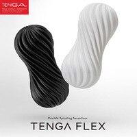 TENGA FLEX Esnek Giderek stimülasyon penis Fincan, Vajina Gerçek Pussy Erkek Masturbator Kupası Seks Oyuncakları Erkekler için Seks Ürünleri