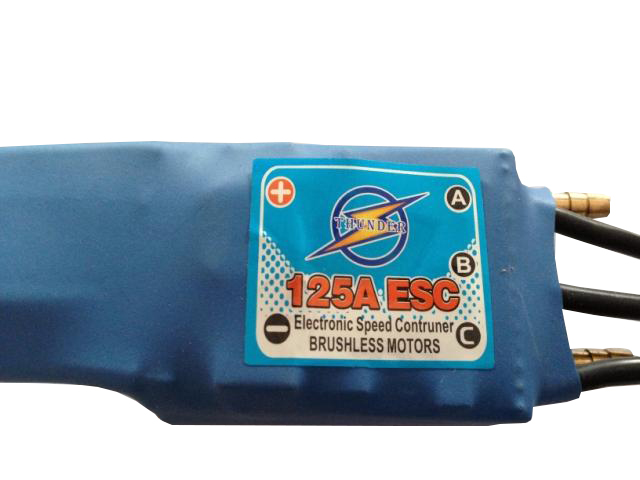Brushless Water Cooled ESC 125A with 5V5A BEC for RC Boat