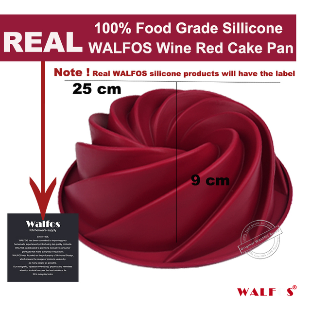 Swirl Silicone Cake Mold