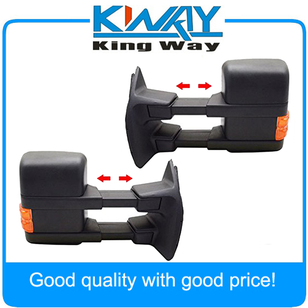 Towing mirrors power heated with turn signal for 2003 2007 ford sd side mirror pair