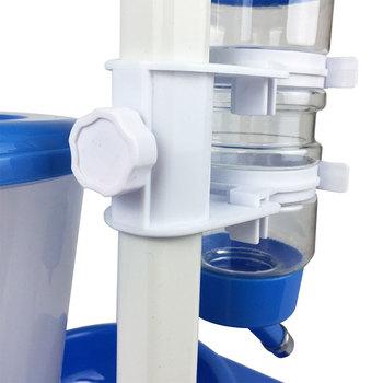 Automatic Pet Cat Dog Water Drinker Dispenser Food Stand Hamster Feeder Dish Bowl Bottle Pet Feeder 3