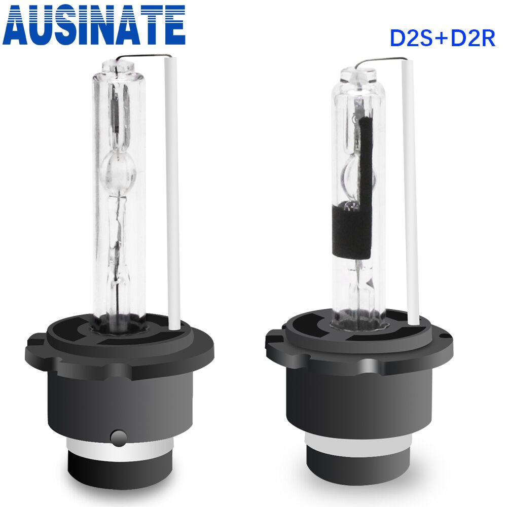 One Pair 55W D2S D2R Xenon HID Bulb Car Headlight Bulbs 4300k 5000k 6000k 8000k Xenon Lamp Auto HID Lights 12V Headlamp