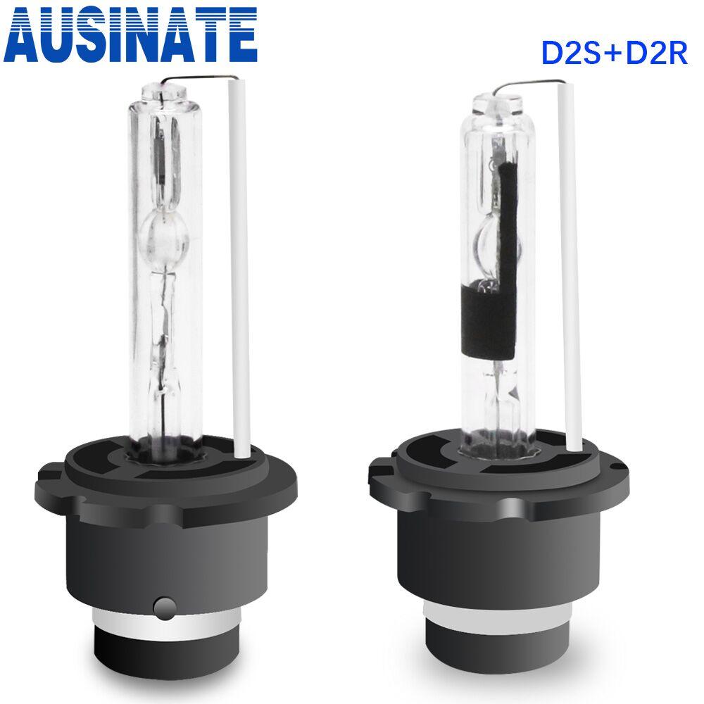 One Pair 55W D2S D2R Xenon HID Bulb Car Headlight Bulbs 4300k 5000k 6000k 8000k Xenon Lamp Auto HID Lights 12V Headlamp