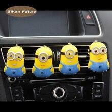 Car perfume air freshener plastic cartoon pet baby interior decoration socket car fragrance diffuser gift